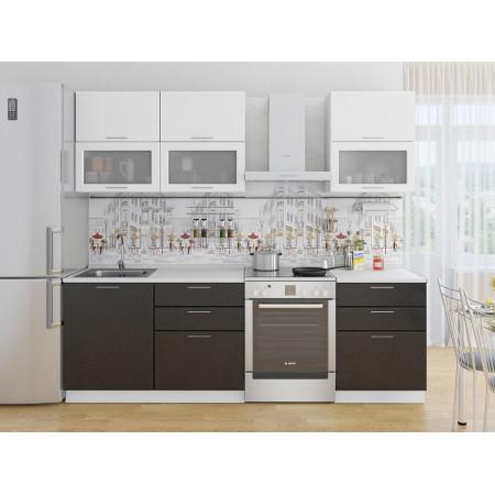 Валерия-М-01 Белый металлик/Черный металлик
