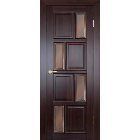 Межкомнатная дверь Теодор ДГО 1-10 Массив сосны