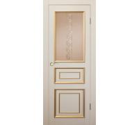 Межкомнатная дверь Джулия 3 ДГОВ Массив сосны