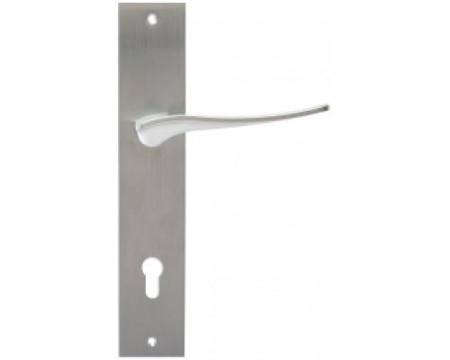 Дверная ручка Extreza Hi-Tech Monblan (Монблан) 105 PL11 CYL